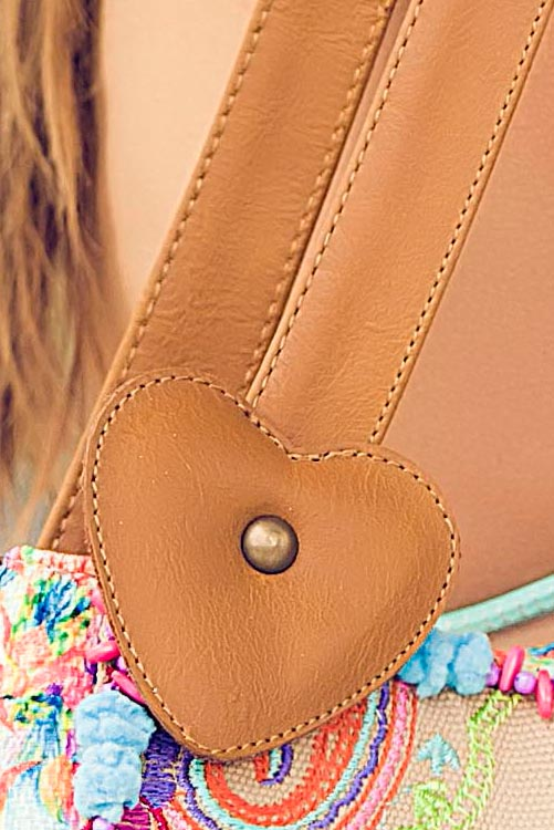 Mar de Heliconia Bag DETAIL STRAP