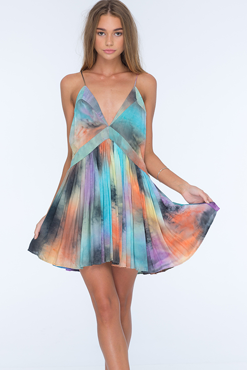 Impression Tie Dye Dream Camisole Dress