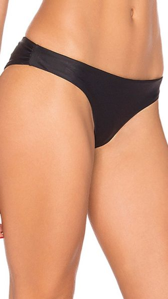 Midnight Basic Ruched Bottom SIDE