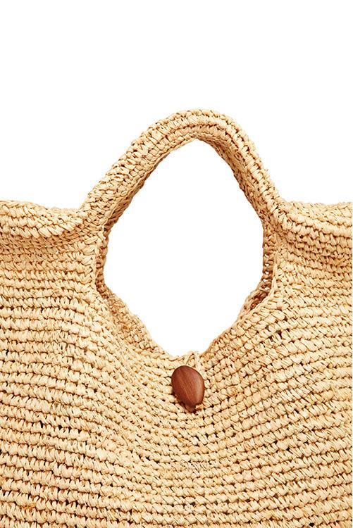 Natural Tash Tote Bag ALT5
