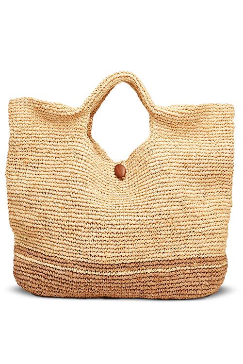 Natural Tash Tote Bag