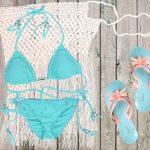 Oceanside with Mar Turquesa Braided String Bikini