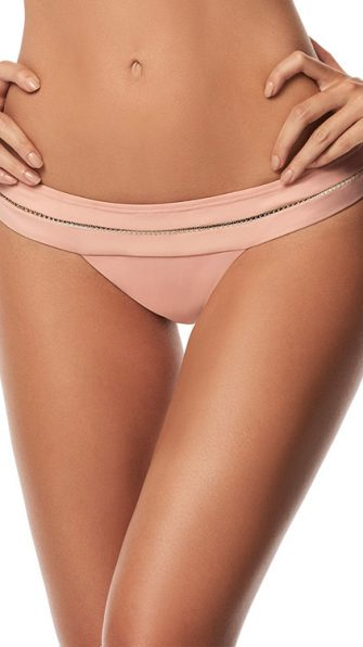 Rose Mesh Banded Bottom