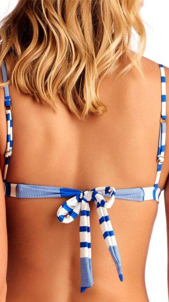 Sapphire Beach Stella Tie Back Top BACK