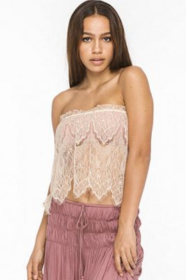 Desert Star Antique Lace Top