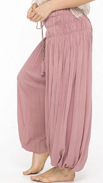 Dusty Rose Heron Pant SIDE