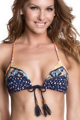 Cool Beans Reversible Triangle Top