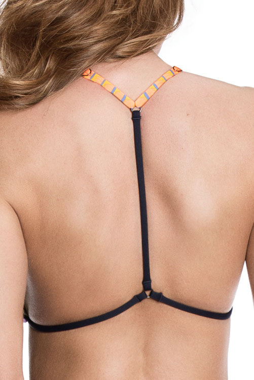 Cool Beans Reversible Triangle Top BACK