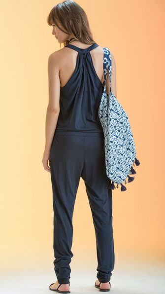 Blue Dream Sally Jumpsuit BACK
