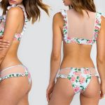 Dusty Rose Print Winona Bikini