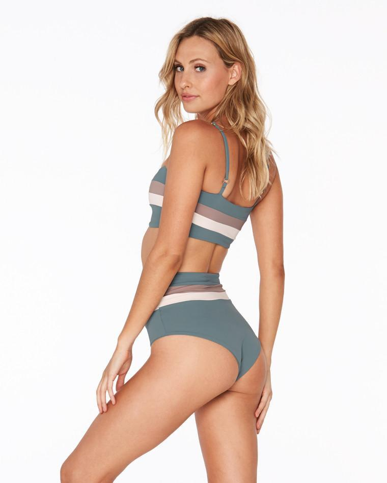 Rebel Top Portia Bottom Stripe Bikini 3
