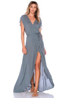 Slated Glass Wrapper Dress
