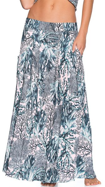 Sparkling Ocean Long Skirt