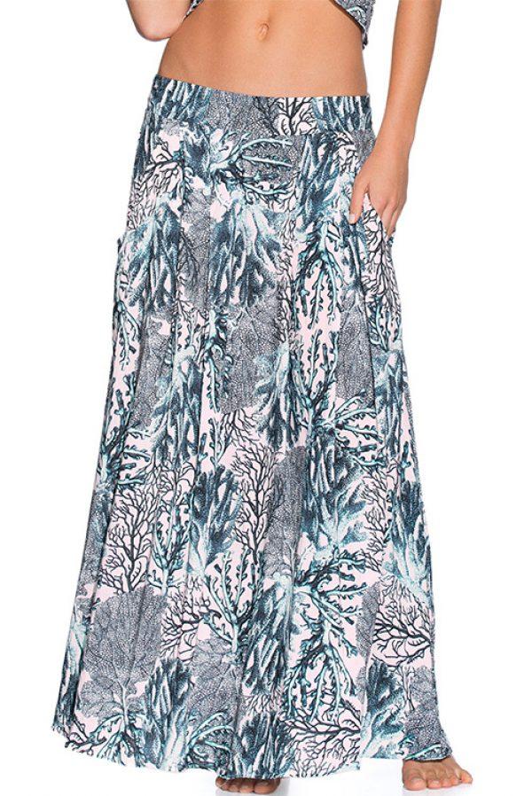 Sparkling Ocean Long Skirt