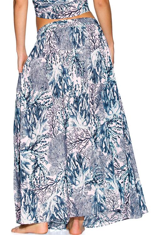 Sparkling Ocean Long Skirt ALT