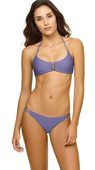 Amethyst Braided Zen Halter Braided Bottom