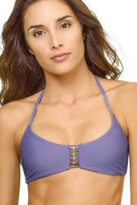 Amethyst Braided Zen Halter Top