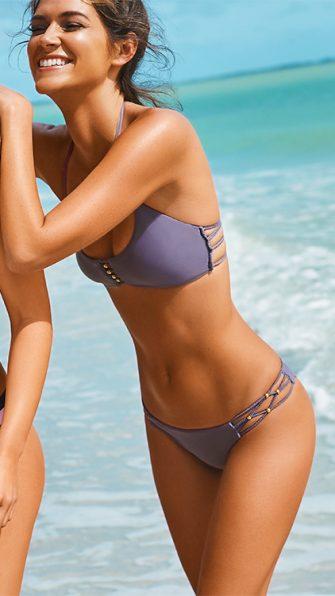 Amethyst Braided Zen Halter Bikini LIF