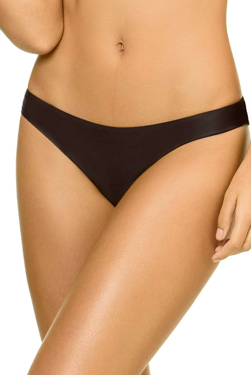 Midnight Basic Ruched Teeny Bottom