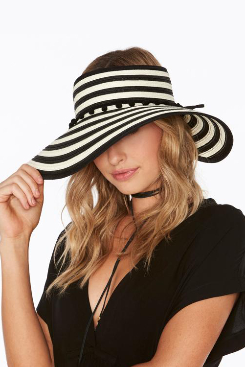 Lewis Woven Roll Up Hat