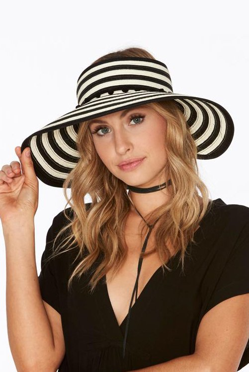 Lewis Woven Roll Up Hat ALT