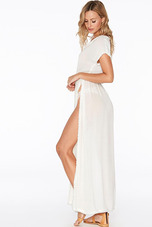 Noveau Coverup in Solid White ALT2