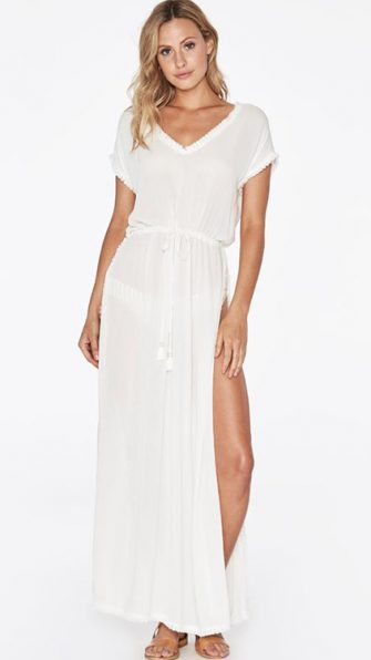 Noveau Coverup in Solid White