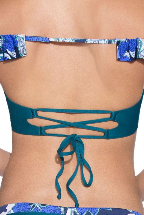 Tayrona Park Underwire Top BACK DETAIL