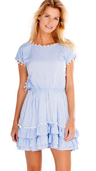 Nissi Pom Pom Dress