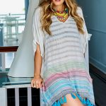 Copper Adriana Tassel Tunic
