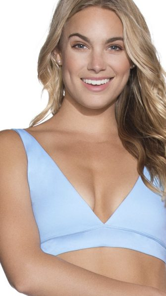 Crystal Blue Allure Reversible Top