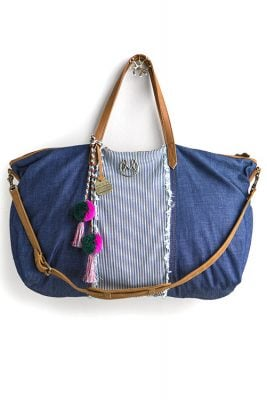 Denim Maajical Tote