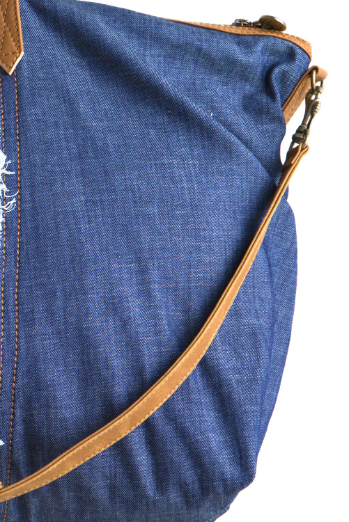 Denim Maajical Tote ALT DETAIL