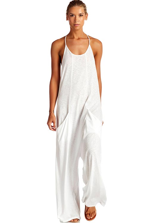 Gemini Jumpsuit EcoCotton White