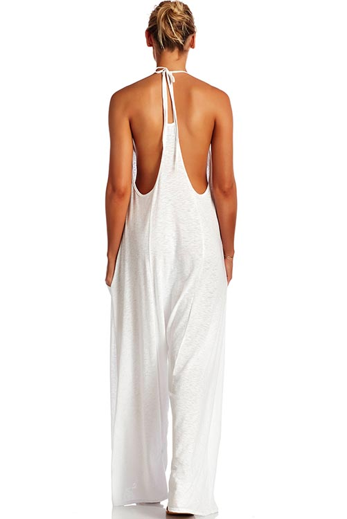 Gemini Jumpsuit EcoCotton White ALT