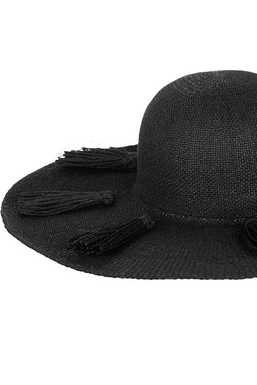 Black Beach Weekend Hat DETAIL