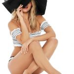 Black Beach Weekend Hat