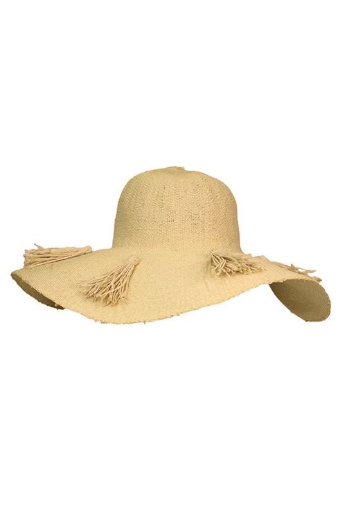 Natural Beach Weekend Hat ISOLATED