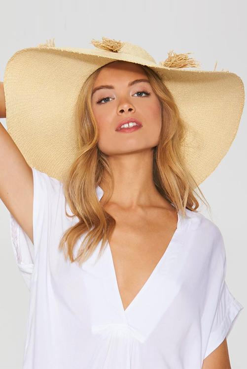 Natural Beach Weekend Hat