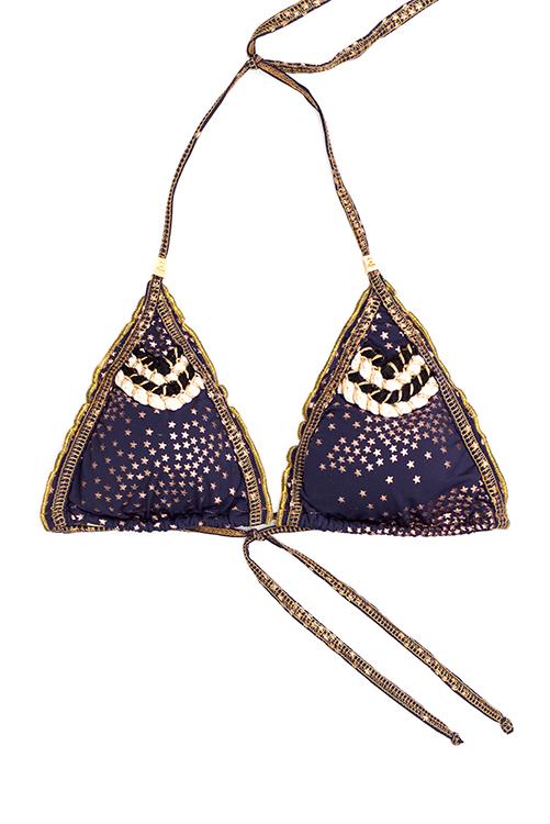 Mar de Estrellas Triangle Top FLAT