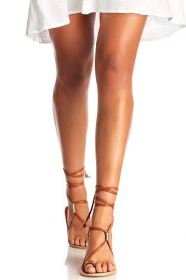Tan Bluebird Sandal