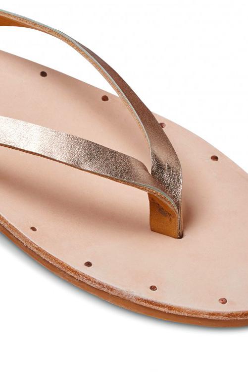 Bronze Natural Seabird Sandal DETAIL