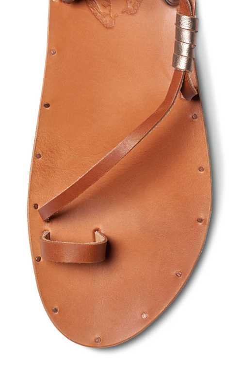 Tan Bluebird Sandal DETAIL