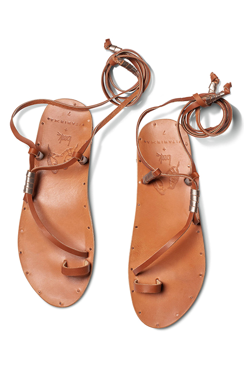 Tan Bluebird Sandal ISOLATED