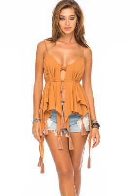 Stevie Butterfly Scarf Top