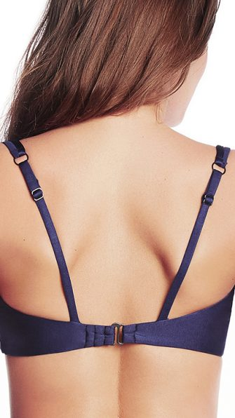 Blue Depth Victory Halter Top BACK