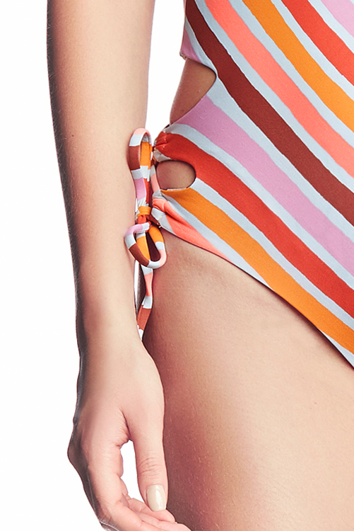 Praia Arco Iris One Piece SIDE DETAIL