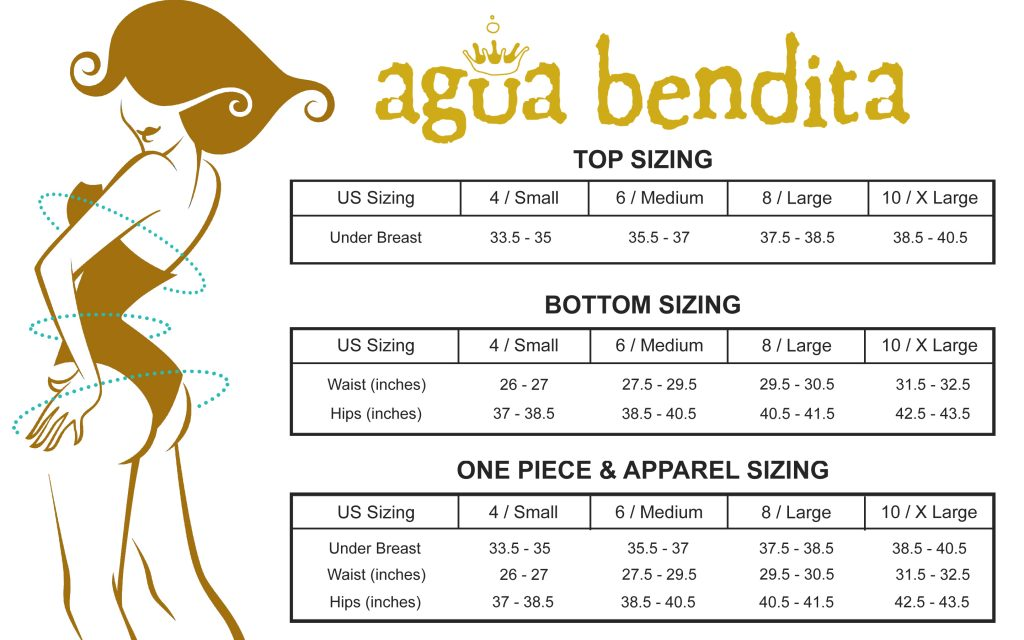 Agua Bendita Size Guide