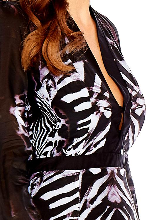 Primal Long Sleeve Dress DETAIL