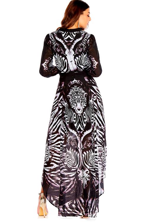 Primal Long Sleeve Dress ALT2